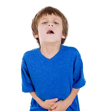Constipation in young boy