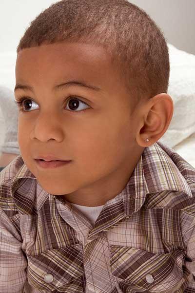 Pierced Ear Boy