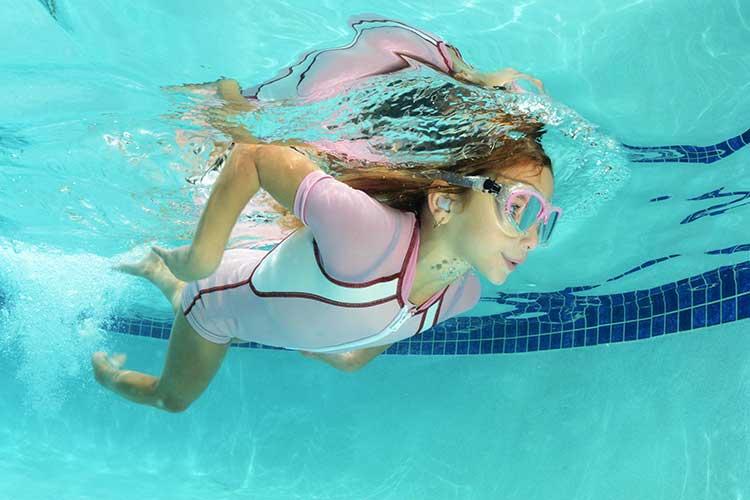Swimmers Ear Girl